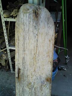 流木の看板